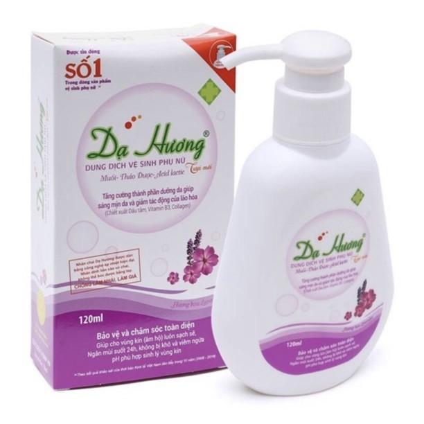 Dung Dịch Vệ Sinh Phụ Nữ Dạ Hương Tím (120ml) - Victory Pharmacy