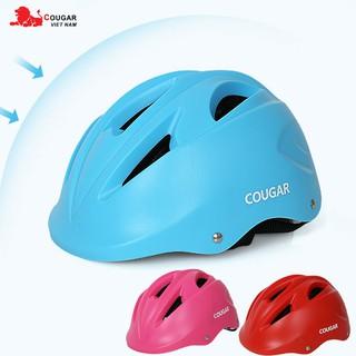 Mũ bảo hiểm cho bé chính hãng Cougar siêu nhẹ MT05 thumbnail