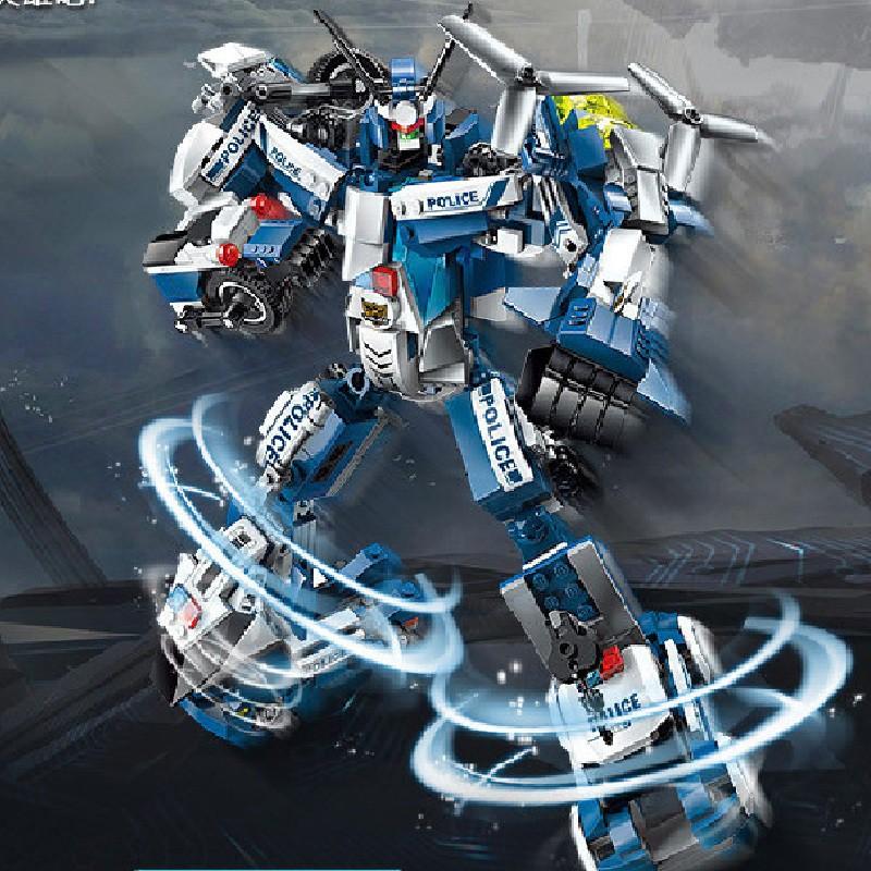 Đồ chơi lắp ráp xây dưng robot King Kong DCLG1407