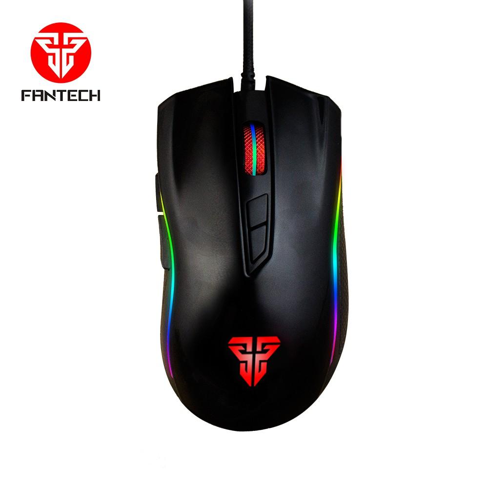 Chuột Gaming Fantech TITAN X4S ( LED Chroma + phần mềm riêng ) LED RGB  - Hãng phân phối chính thức
