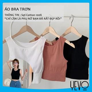 Áo bra tập gym co dãn 4 chiều, áo bra trơn thoáng mát thoát mồ hôi YEVO Shop thumbnail