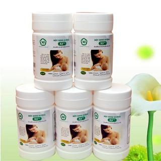 5 BỘT DINH DƯỠNG X5 PLUS-dùng cho lợi sữa cho mẹ sau sinh, gồm các hạt ngủ cốc naỷ mầm, thêm đạm đậu nành,bột nghệ… .