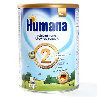Sữa Humana Gold số 2 800g