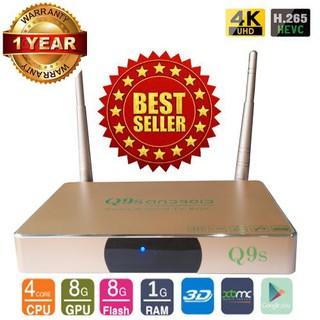 ĐẦU Smart TV Q9S RK 3128 Bảo Hành 12 THÁNG