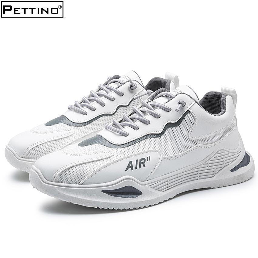 [Mã FASHIONGO15 giảm tới 60K đơn 300K] Giày nam, sneaker nam chất liệu lưới nhẹ thoáng, hot trend 2021 PETTINO - SN03