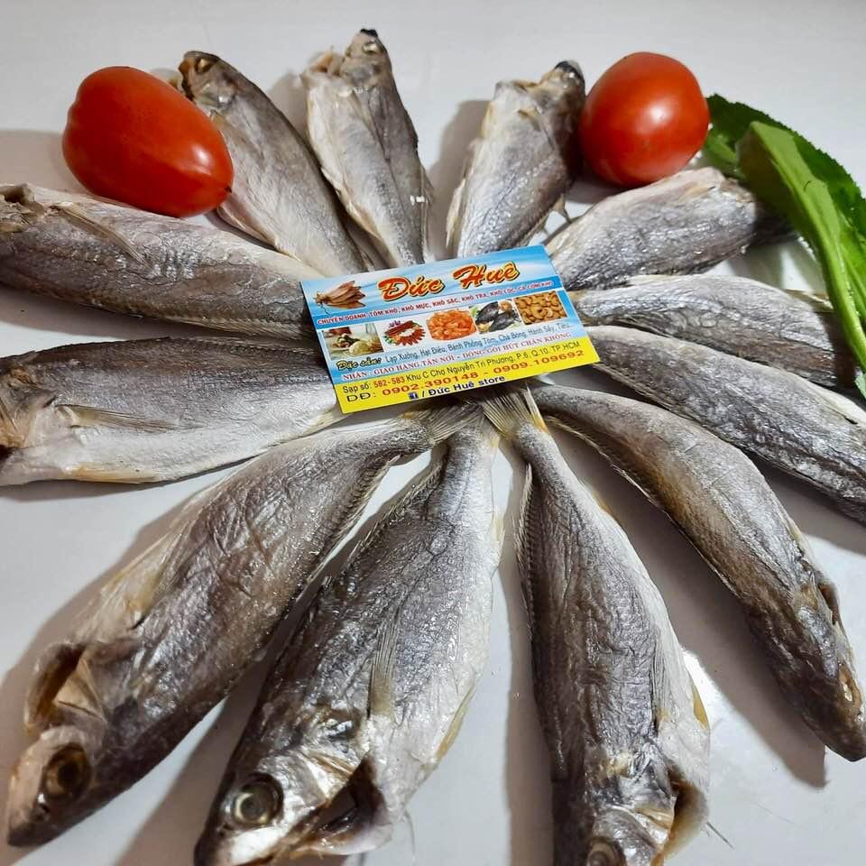 Khô cá đù Cần Giờ (loại khô) 500g loại đặc biệt, ngon, bổ, rẻ - Đức Huê Store