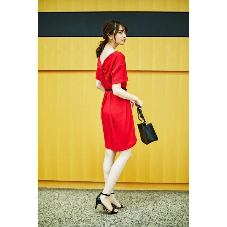 Đầm GU đỏ