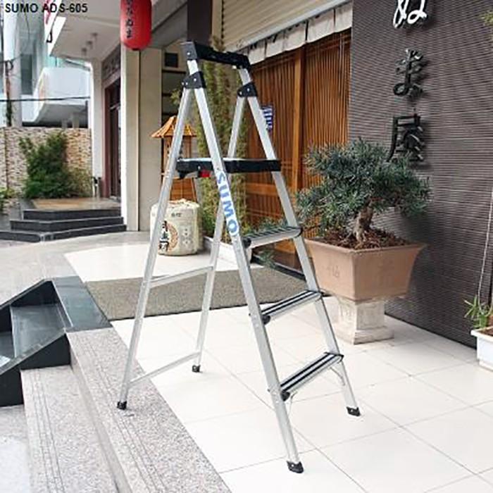 Thang nhôm ghế 5 bậc xếp gọn SUMO ADS-605 - 15042510 , 1696681541 , 322_1696681541 , 1145000 , Thang-nhom-ghe-5-bac-xep-gon-SUMO-ADS-605-322_1696681541 , shopee.vn , Thang nhôm ghế 5 bậc xếp gọn SUMO ADS-605