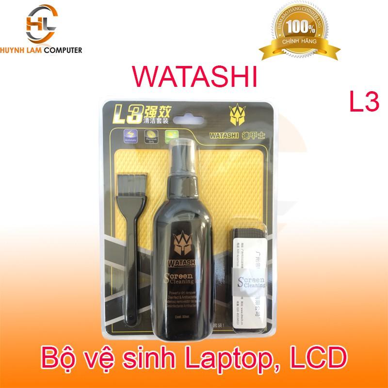 Bộ vệ sinh Laptop - Bộ vệ sinh Laptop LCD Watashi L3 chính hãng