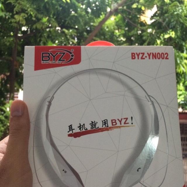 Tai nghe bluetooth đeo cổ cao cấp BYZ - YN002 - 3008952 , 453914932 , 322_453914932 , 359000 , Tai-nghe-bluetooth-deo-co-cao-cap-BYZ-YN002-322_453914932 , shopee.vn , Tai nghe bluetooth đeo cổ cao cấp BYZ - YN002