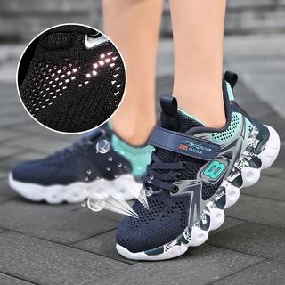 Giày trẻ em 2-12 tuổi giày thể thao thanh niên thời trang giản dị thoáng khí mùa xuân và mùa hè giày chạy bộ ngoài trời unisex giày trẻ em