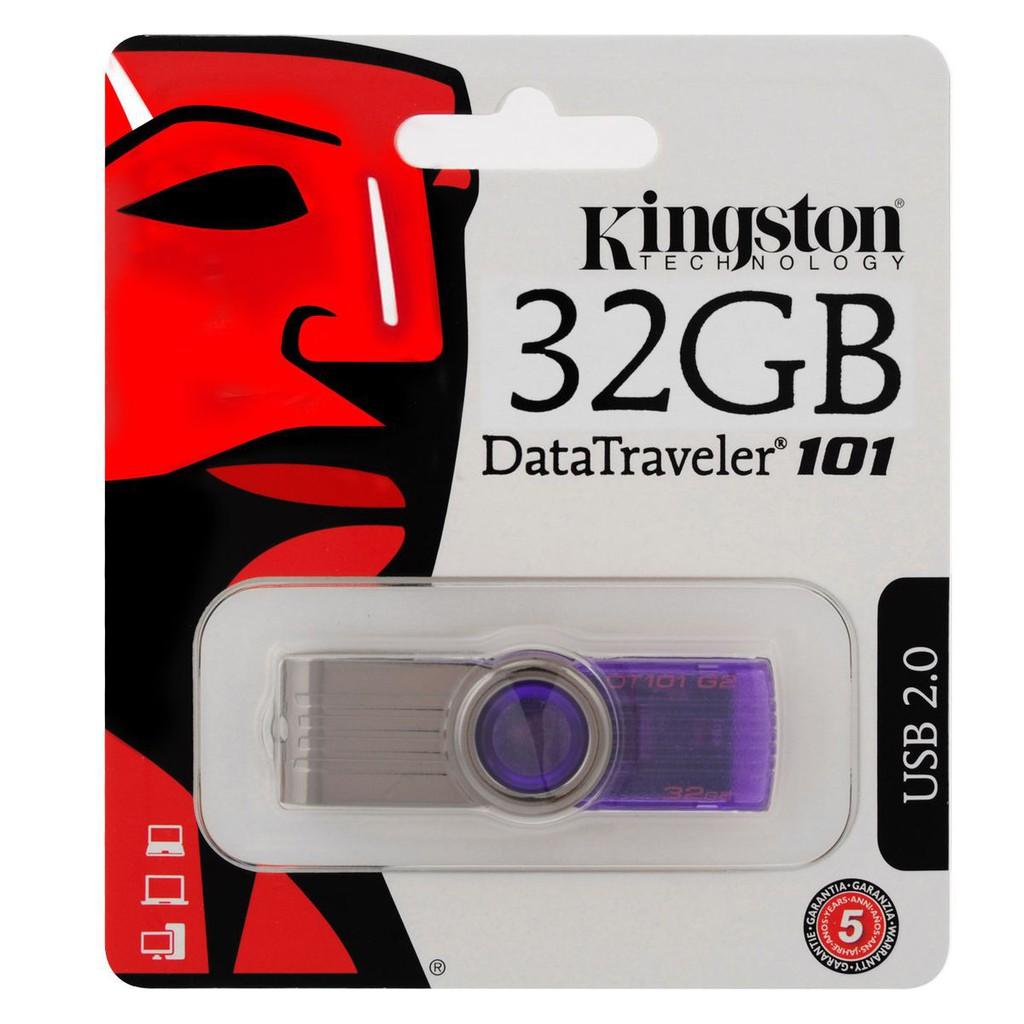 Thanh nhớ ngoài Kingston 32GB Hi Speed USB Flash Drive_DT101G2/32GB