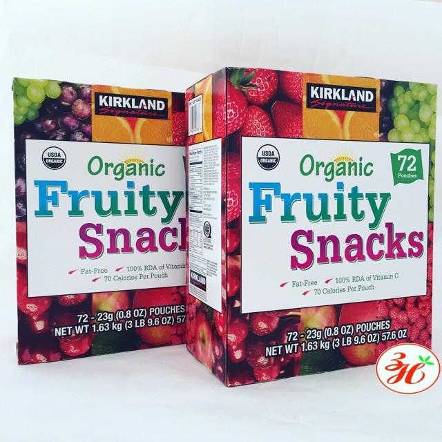 Kẹo dẻo Kirkland Organic xách tay Mỹ