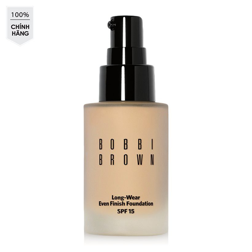 Kem nền kiềm dầu Bobbi Brown Long-Wear Even Finish Foundation SPF 15 #Warm Sand 2.5