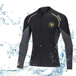 ZCCO1.5MM Neoprene wetsuit diving wetsuit scuba diving jacket men's women long sleeve snorkeling jacjket suit spearfishing surfing jacket