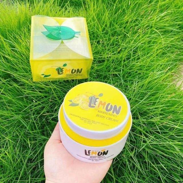 Body Lemon Chanh Siêu Trắng Căng Mịn Da