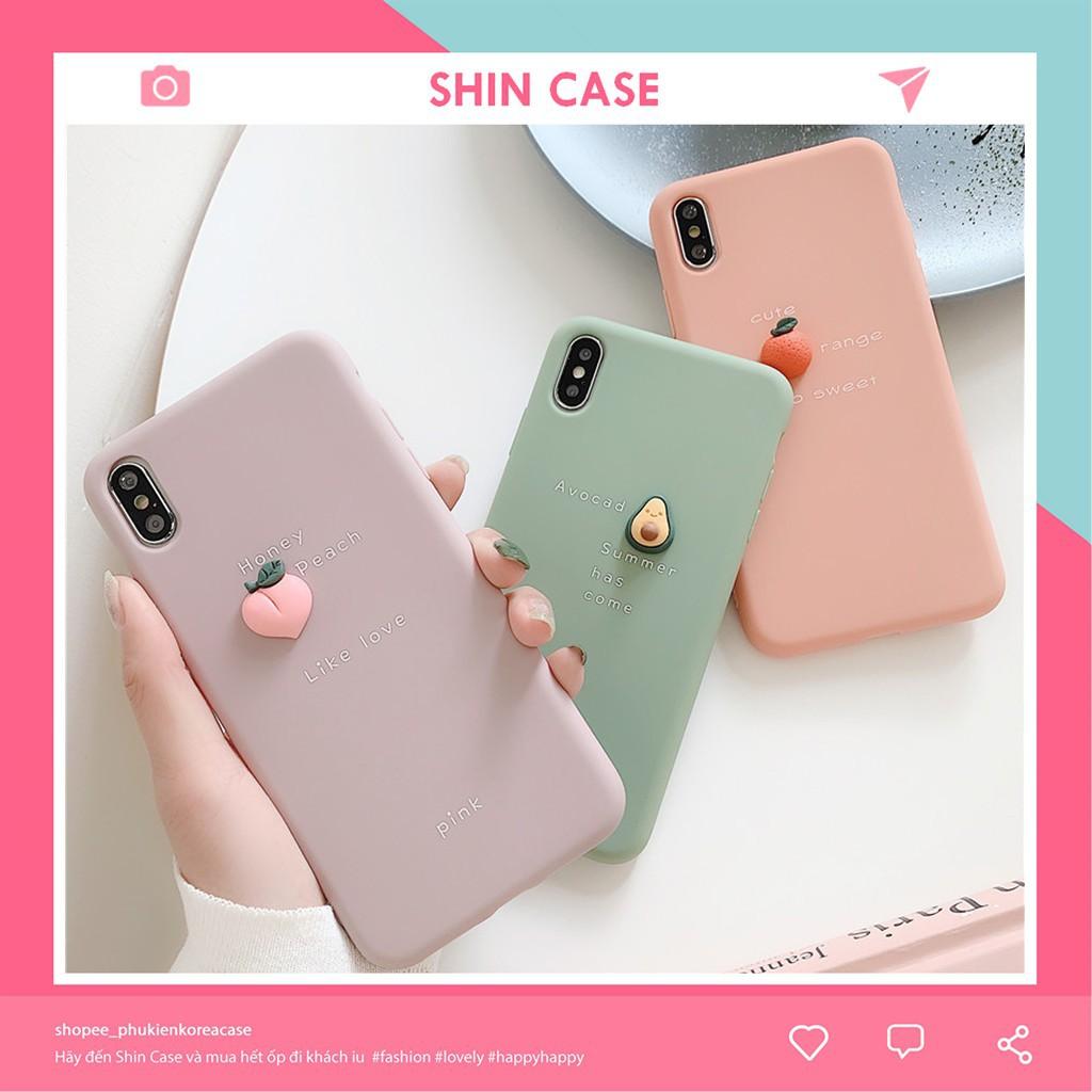 Ốp lưng iphone Trái Cây Tí Hon 3D 5/5s/6/6plus/6s/6s plus/6/7/7plus/8/8plus/x/xs/xs max/11/11 pro/11 promax – Shin Case