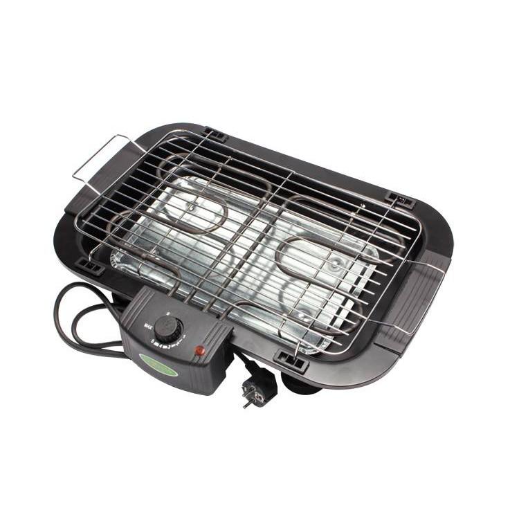 Bếp nướng vỉ không khói công suất 2000W thiêt kế hạn chế khói khi ăn đồ nướng BBQ, cấu tạo nhỏ gọn