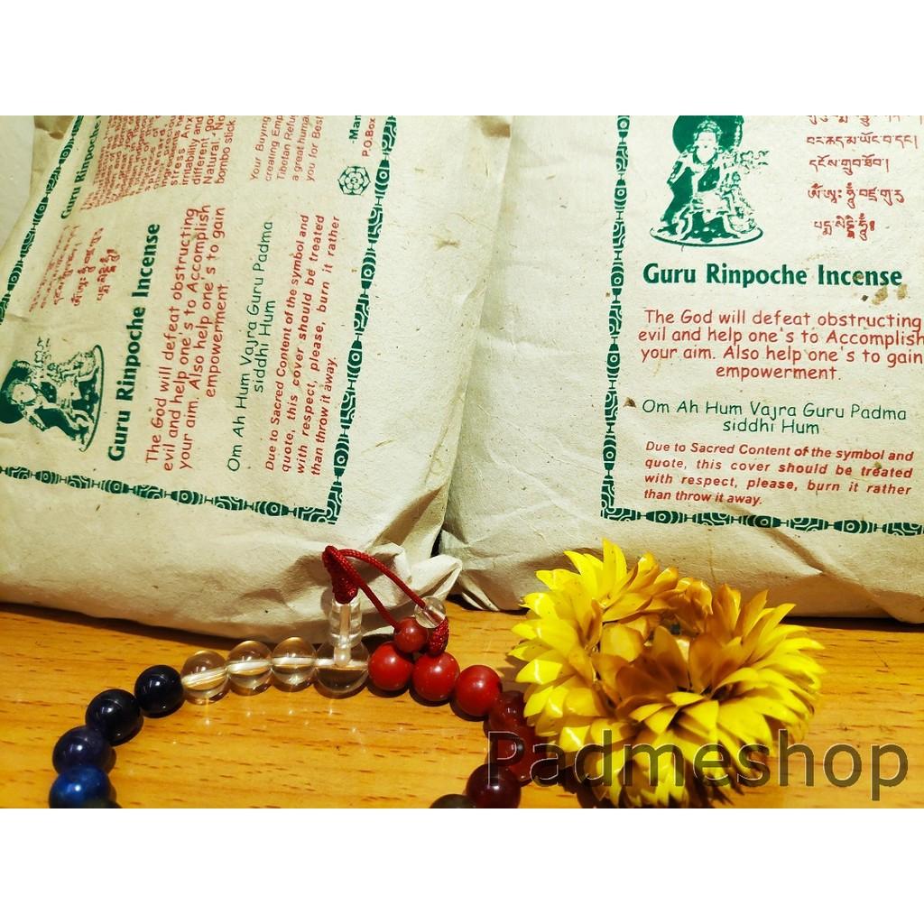 Nhang Tây Tạng dạng bột, bột khói hương Guru Rinpoche Liên Hoa Sanh, nhập khẩu Nepal