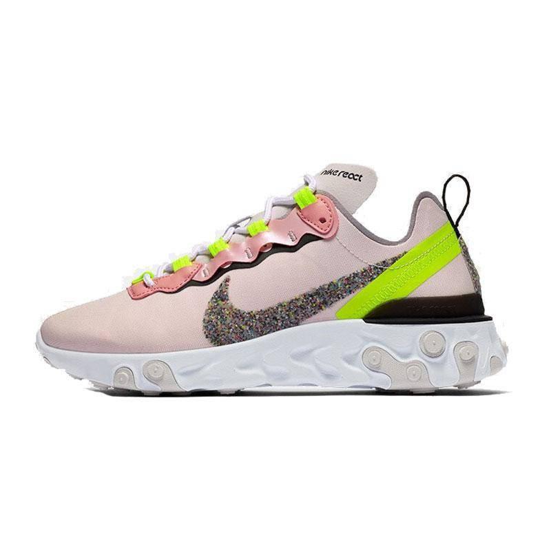 Nike Winter New Women REACT Element 55 Giày thể thao CD6964-600