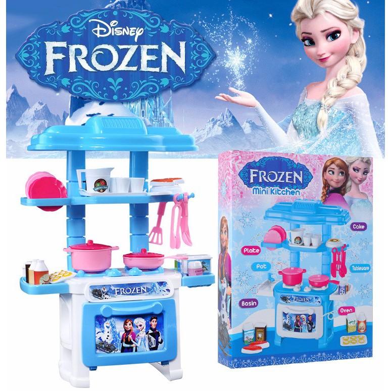 Bộ đồ chơi nấu ăn nhà bếp nữ hoàng băng giá elsa, Frozen