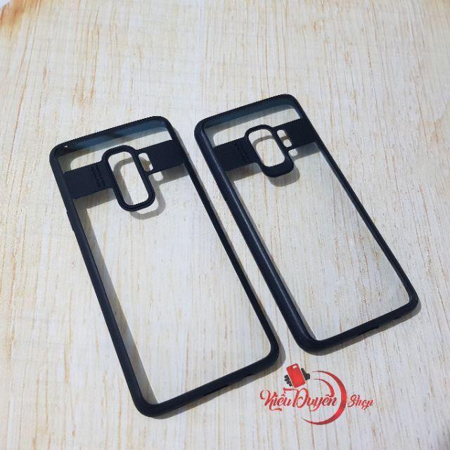 Samsung Galaxy S9 và S9 plus ốp lưng trong viền màu