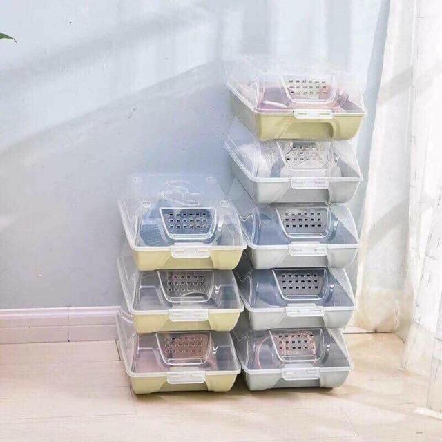 set 10 hộp đựng giày chỉ