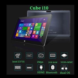 Máy tính bảng CUBE i10 màn hình cảm ứng 10 inch chạy dual Windows + Android chip Intel 4 nhân 2GB RAM 32GB - used 90% thumbnail