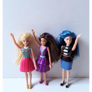 Combo 3 Búp bê Barbie Mini (hình chi tiết trong ảnh)