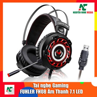 Tai nghe Gaming FUHLER FH08 LED âm thanh 7.1