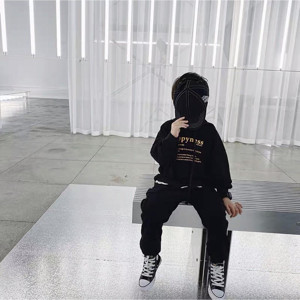 Bộ đồ thu đông bé trai ⚡️ 𝐅𝐑𝐄𝐄 𝐒𝐇𝐈𝐏 ⚡️ Set thu đông bé trai phong cách Hàn quốc cực chất