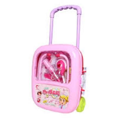 Đồ chơi valy kéo bác sĩ dùng pin có đèn (kèm pin), do choi bác sỹ