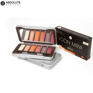 Phấn Mắt Absolute NewYork Icon Mini Eyeshadow Palette AIM 4.8g - bảng 6 màu thumbnail