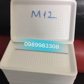 Khay xốp M12 giá 130/ 1dây