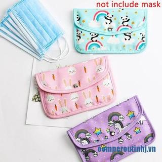 ✨oemperoutinhj.vnStorage Bag Organizer Save Face Mask Eco Friendly Fabric Dustproof Cloth Purses