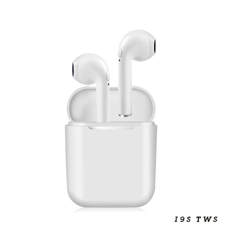 Tai nghe Bluetooth True Wireless i9S, i11, i500, i1000 Pro Auto connect kèm dock sạc và cáp Lightning