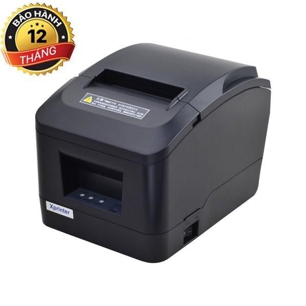 [Giảm giá sốc ]Máy in nhiệt, in hóa đơn, in bill K80 chính hãng Xprinter A160H cổng USB [TẶNG 1 CUỘN GIẤY IN]