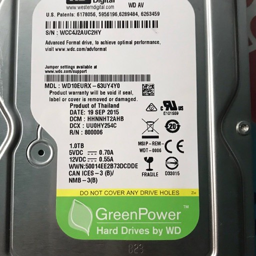 Ổ cứng HDD 1T