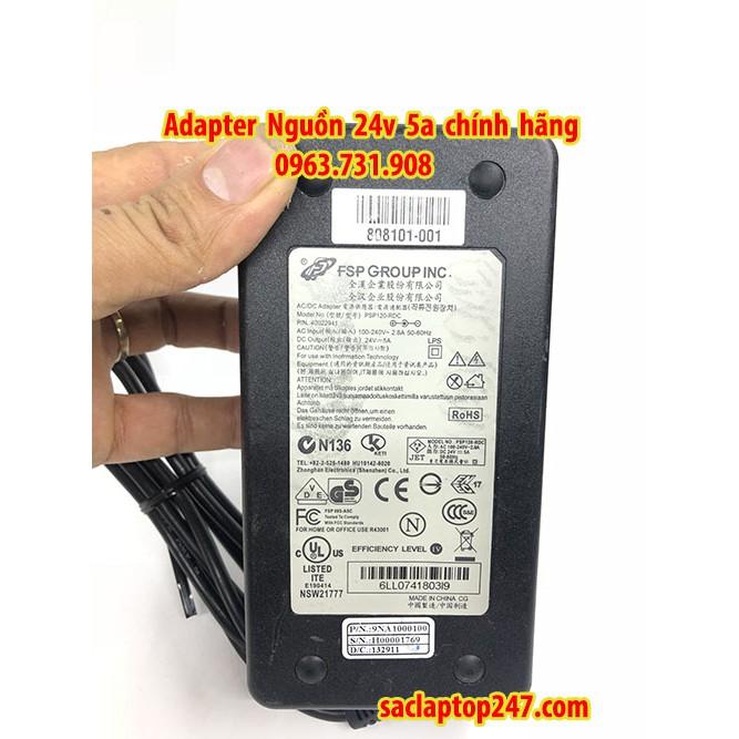 Adapter nguồn 24v 5a chính hãng
