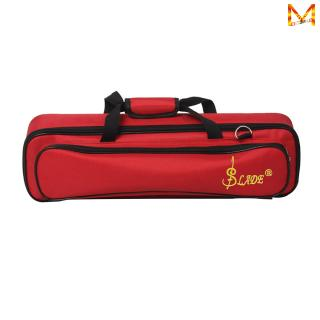Lightweight Portable Flute Bag Backpack Soft Case with Carry Handle Shoulder Strap