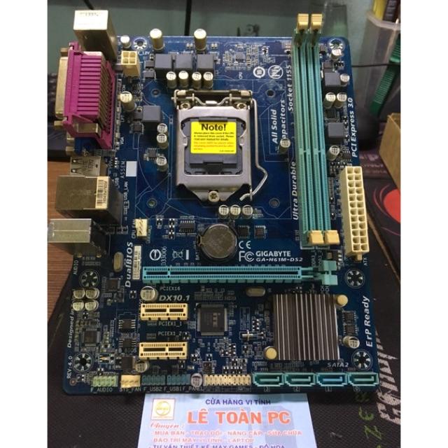 Mainboard Gigabyte H61M-DS2 V3 nguyên zin - 2403445 , 122031837 , 322_122031837 , 690000 , Mainboard-Gigabyte-H61M-DS2-V3-nguyen-zin-322_122031837 , shopee.vn , Mainboard Gigabyte H61M-DS2 V3 nguyên zin