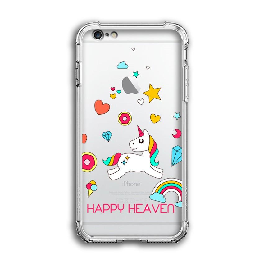 Ốp Lưng Dẻo Chống Sốc Apple Iphone 6 Plus / 6S Plus - 04002 0551 HAPPY03