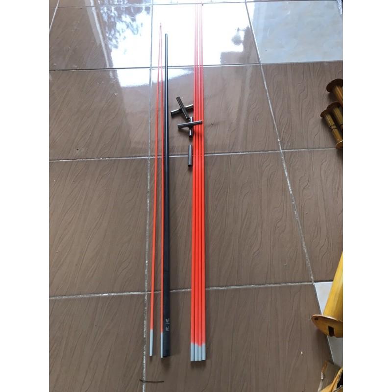 Bộ khung thuỷ tinh nhiều kích cỡ – tặng kèm dây cuốn đai – chân cọc sáo