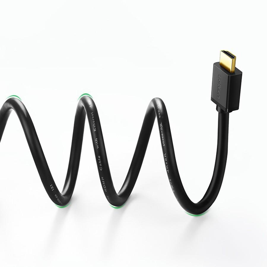 Dây HDMI dài 3M Ugreen 10108 3D*4K - Cáp HDMI To HDMI - Hapustore