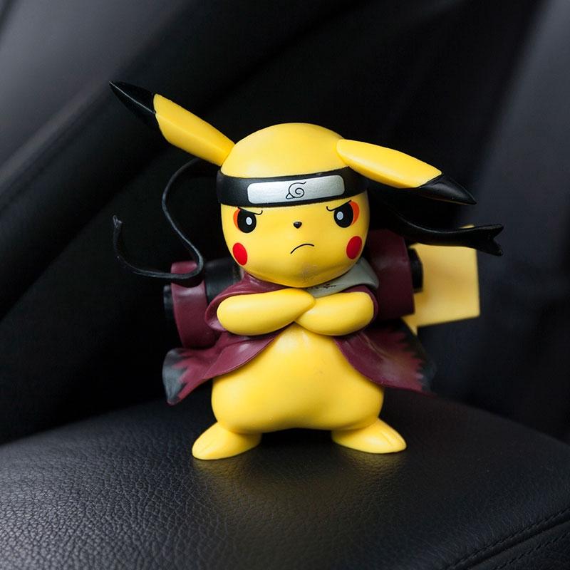 Bộ Đồ Chơi Pikachu Trang Trí Bàn Điều Khiển Xe Hơi Xinh Xắn