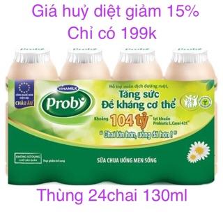 Tên sản phẩm: Thực phẩm bổ sung Sữa chua uống Probi Có Đường – Lốc 4 chai x 130ml
