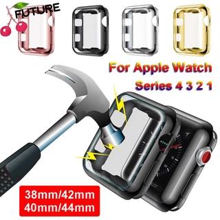 Ốp Lưng Tpu Siêu Mỏng Bảo Vệ Màn Hình Cho Apple Watch 5 4 3 2 1