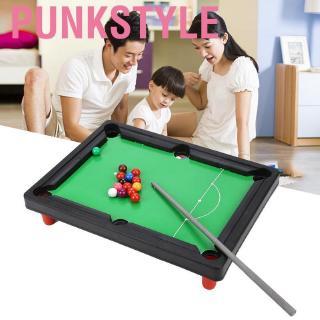 Punkstyle Portable Mini Pool Table Set Child American Billiard Tables Desktop Game Children Toys Sports Toy Kids Funny I