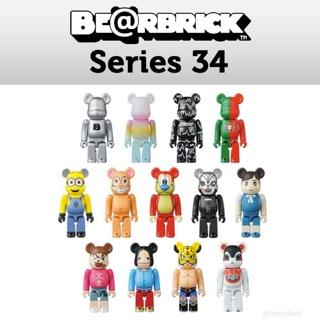Bearbrick Serries 34 – Hàng chính hãng Medicom Toy Nhật bản