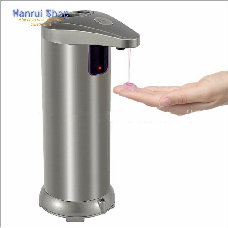 Bình xịt xà phòng cảm ứng tự động chất liệu inox cao cấp - 3165329 , 1026076946 , 322_1026076946 , 289000 , Binh-xit-xa-phong-cam-ung-tu-dong-chat-lieu-inox-cao-cap-322_1026076946 , shopee.vn , Bình xịt xà phòng cảm ứng tự động chất liệu inox cao cấp
